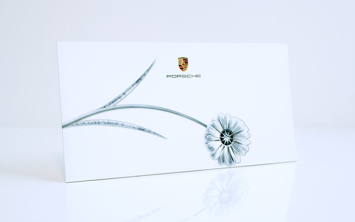 Porsche Metallic Flower Titel