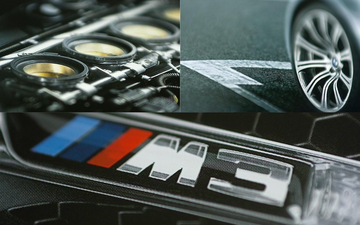 BMW M3 Sedan closeUp