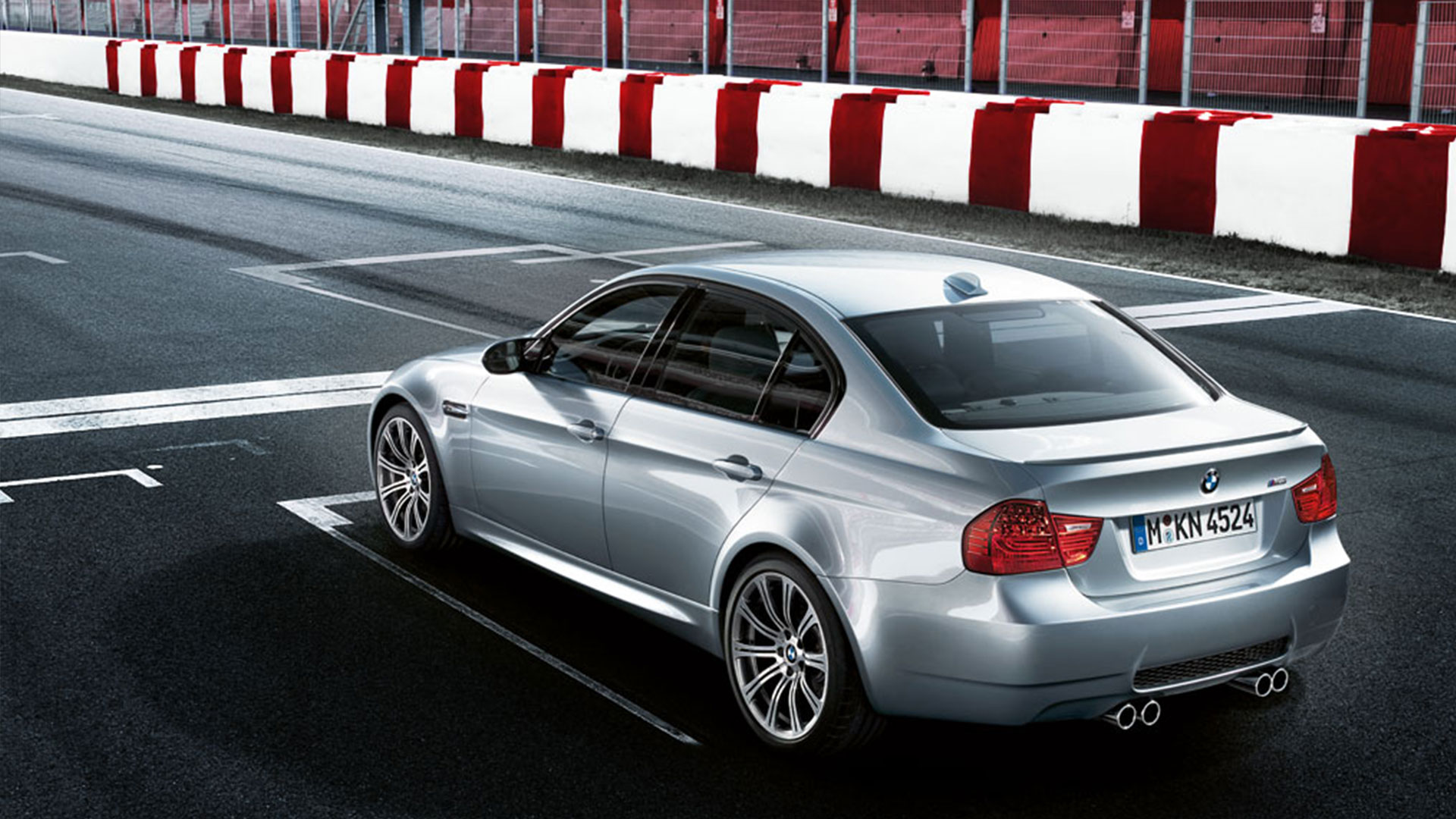 BMW M3 Slider Visual