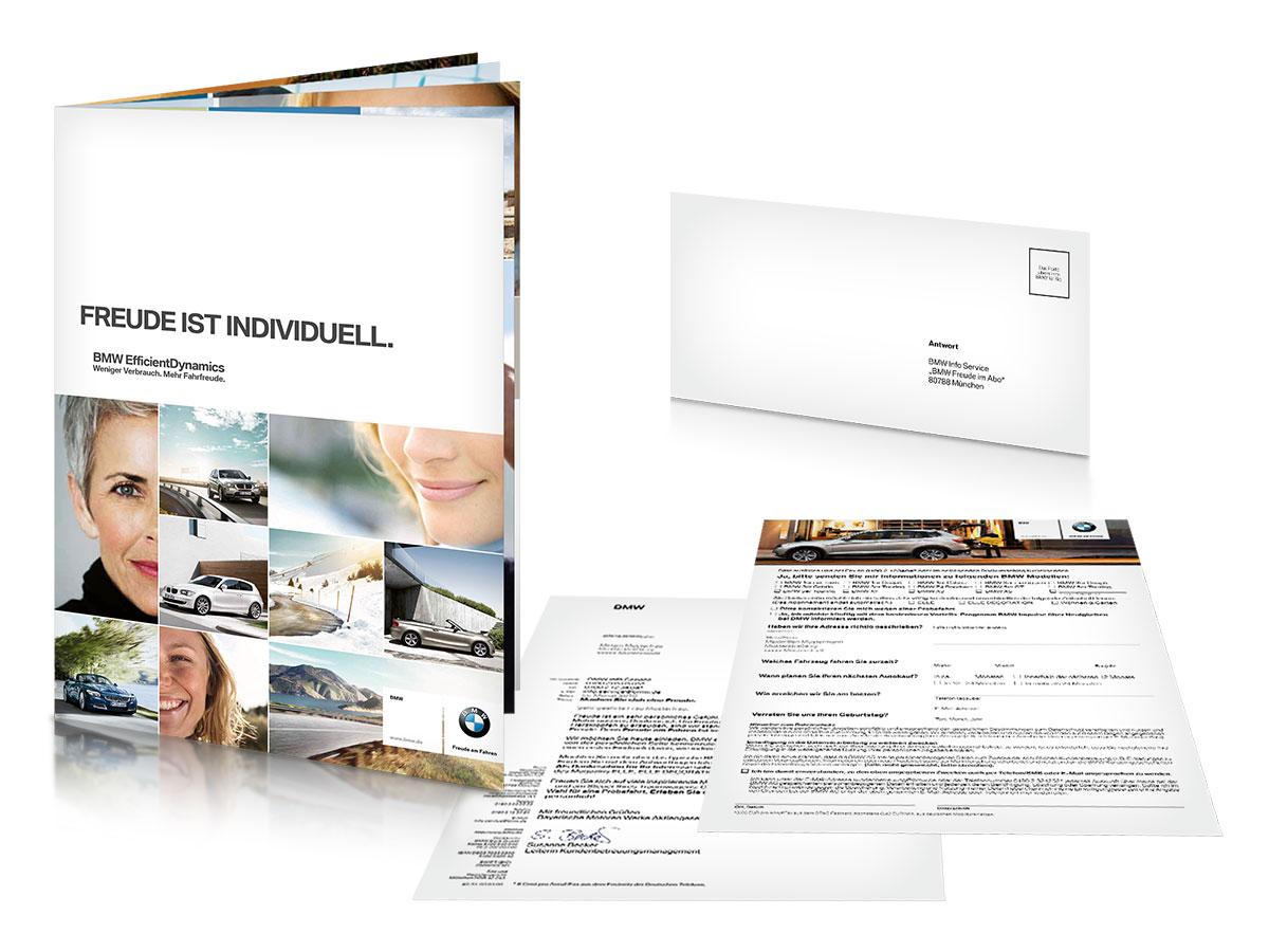 BMW Lifestyle Mailing Uebersicht