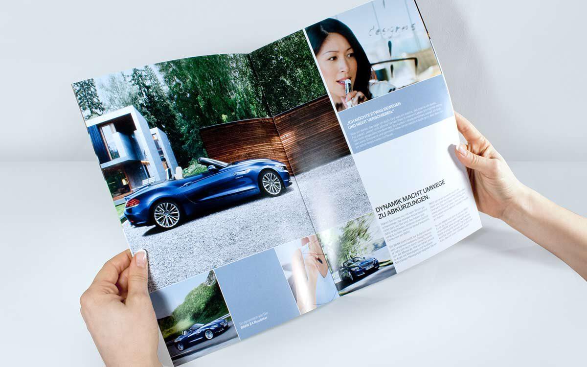 BMW Lifestyle Broschuere S4-5